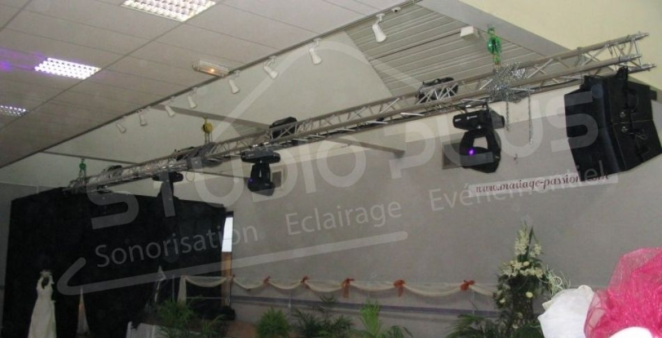 Eclairage Inauguration